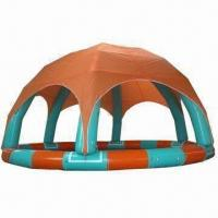 Buy cheap Inflatable pool with tent/inflatable water pool/inflatable swimming pool/PVC from wholesalers