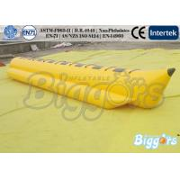 Wholesale 0.9mm PVC Inflatable trampoline Water park Flyfish Adults Amusement from china suppliers