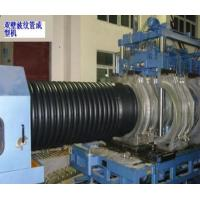 Wholesale PE / PVC Double Wall Corrugated Pipe Extrusion Line Automatic from china suppliers