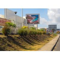 Wholesale Professional Advertising P10mm Outdoor LED Screen LED Sign Panels CE / ROHS from china suppliers