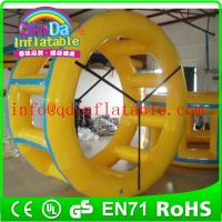 Wholesale Inflatable water wheel inflatable water sport game aqua walking roller wheel from china suppliers