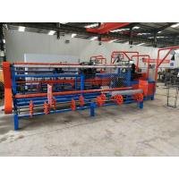 China Fully Automatic Diamond Wire Mesh Weaving Machine PLC Control For Playground on sale