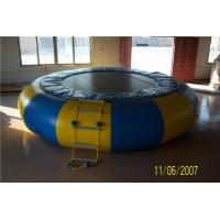 China Non - Toxic Blow Up Water Trampoline , Outdoor Inflatable Water Toys For Adults on sale