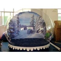 Wholesale Personalized Christmas Inflatable Snow Globes Outdoors Clear Dome Tent from china suppliers