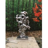 Wholesale Garden Decor Abstract Metal Sculpture , Art Shape Contemporary Abstract Sculpture from china suppliers