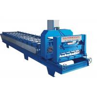 Wholesale High Power Roof Panel Roll Forming Machine 3 Phases With 1 Inch Chain Size 4kw power from china suppliers