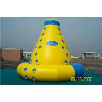 Wholesale Customized Size Inflatable Water Climbing Wall , Inflatable Water Sports Toys from china suppliers