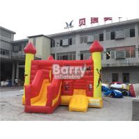China Commercial Inflatable Bouncy Slide , Blow Up Combo Jumping Castle For Kids Play on sale