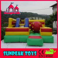 Wholesale COM-277 Indoor And Outdoor Combo Inflatable Bouncer for sale from china suppliers