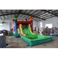 Wholesale Kids Bouncy Castle Slide With Pool from china suppliers