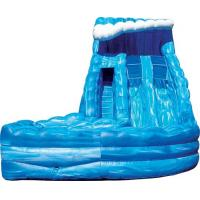 Wholesale OEM High Speed Race Slide, Cool Adult Inflatable Commercial Water Slides For Kids / Adults from china suppliers