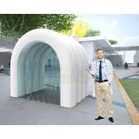 Wholesale 0.9mm Inflatable Disinfection Spray Tunnel Medical Sanitizantes Tent from china suppliers