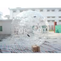 Quality Attractive Inflatable zorbing ball For Party / Wlub Park / Square , Large Inflatable Beach Balls for sale