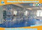 Commercial Grade Plato Inflatable Zorb Ball , Human Inflatable Bumper Bubble Balls