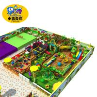 Wholesale Preschool Kids Indoor Playground Equipment PVC Foam Wooden Material from china suppliers