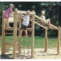 Wholesale Wooden outdoor playground,wooden bridges for kids from china suppliers