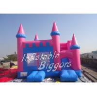 Wholesale Kindergarten PVC Kids Bouncy Castle / Rental Inflatable Slide Combo from china suppliers