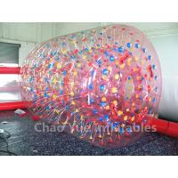 Wholesale High Quality Colorful 0.8mm PVC Inflatable Roller Ball for swimming pool from china suppliers