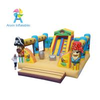 Wholesale Giant fun children bouncy Pirate Ship Inflatable Playground equipment from china suppliers