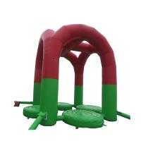 Wholesale High Soundness Kids Inflatable Trampoline Anti - Crack Stable Chemical Performance from china suppliers