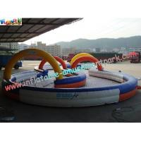 Wholesale Durable Inflatable Sports Games Race Track , Inflatable Go Kart Track from china suppliers