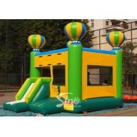 Crazy fun outdoor kids inflatable balloon combo castle on sale made of best pvc tarpaulin from Sino Inflatables