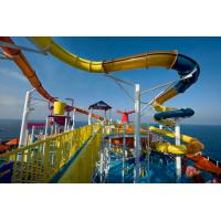 Wholesale OEM Outdoor Spiral Water Slide Water Playground Leisure Play For Kids and Adults from china suppliers