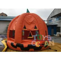 Wholesale Halloween Inflatable Pumpkin Bouncer Haunted Bouncers / Bouncy Castle For Children from china suppliers