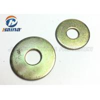 China Round Head Flat Washers A Type , Flat Steel Washers For Mechanical Machine on sale