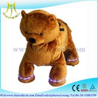 Wholesale Hansel kid plush toy bike happy rides on animal from china suppliers