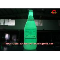 Wholesale LED Color Inflatable Model / Inflatable Bottle luminescence Advertisement Simulation Model from china suppliers