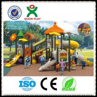 Wholesale Playground Equipment Kids Outdoor Playground For Kindergarten QX-001A from china suppliers