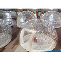 Wholesale PVC Transparent Crystal Inflatable Party Tent Dome Tent For Camping 0.55mm Thick from china suppliers