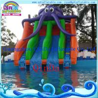 China inflatable slide for pool/inflatable pool slide on sale