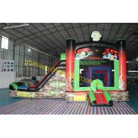 Buy cheap zombies bouncy castle slide house from wholesalers