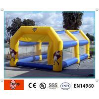 Wholesale Outdoor Inflatable Batting Cages , Funny Sports Game Inflatable Driving Range For Tennis Cage Game from china suppliers