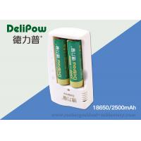 Wholesale 18650 Rechargeable Lithium Battery 2500mAh For Digital Cameras from china suppliers