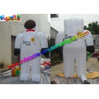 Popular Inflatable Astronaut Model , Advertising Inflatable Spaceman Customized