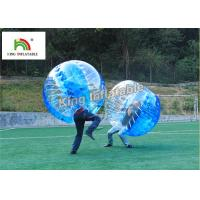 Wholesale 1.0mm PVC Inflatable Bumper Ball Transparent Bubble Ball For Football Games from china suppliers