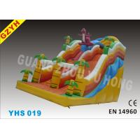Wholesale YHS 019 0.55mm PVC Tarpaulin Forest Commercial Inflatable Slides For Backyard from china suppliers