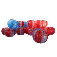 Wholesale Fireproof Inflatable Ball Suit Soccer Silk Screen Printing With CE Certification from china suppliers