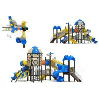 Wholesale Amusement Park Attractive Custom Playground Slides 5 - 10 Kids Capacity from china suppliers