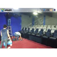 Wholesale Game 7D Cinema System With Numerous Effects Set Up In Store Front , Walking Streets from china suppliers