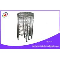 China Automatic RFID access control full height turnstile for Subway / railway station on sale