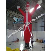 Wholesale Inflatable Santa Claus airdancer,Inflatable sky dancer,Inflatable single leg airdancer from china suppliers