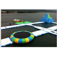 Quality 0.9mm PVC Tarpaulin Inflatable Aqua Park / Inflatable Water Attractions for for sale