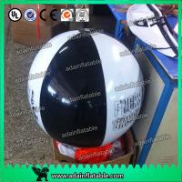China Colorful PVC Plastic Inflatable Beach Balls Custom Promotional Products on sale