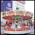 Wholesale Children carnival games 8 seats zhengzhou amusement carousel from china suppliers