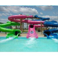Wholesale Spray Up Outdoor 2 Lane Adults Fiberglass Water Slides Equipment from china suppliers