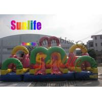 Wholesale hot sell inflatable giant slide combo from china suppliers